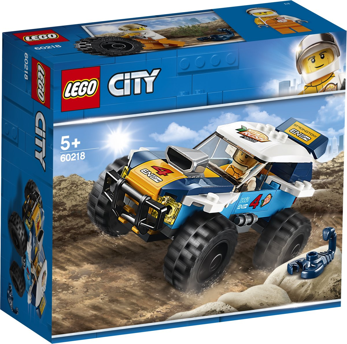 LEGO City Woestijn Rallywagen - 60218