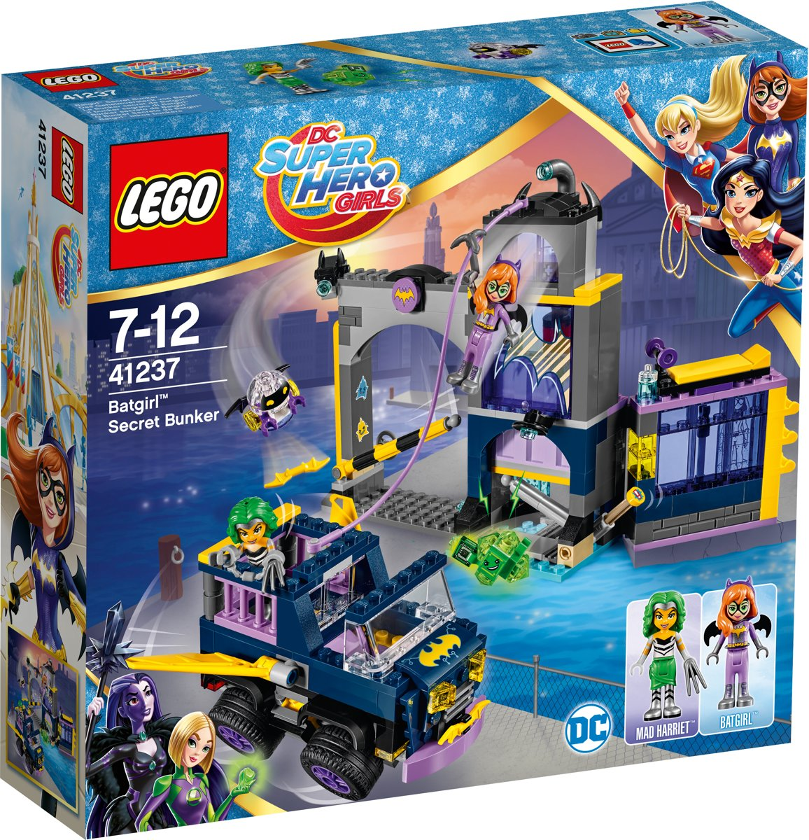 LEGO DC Super Hero Girls Batgirl Geheime Bunker - 41237