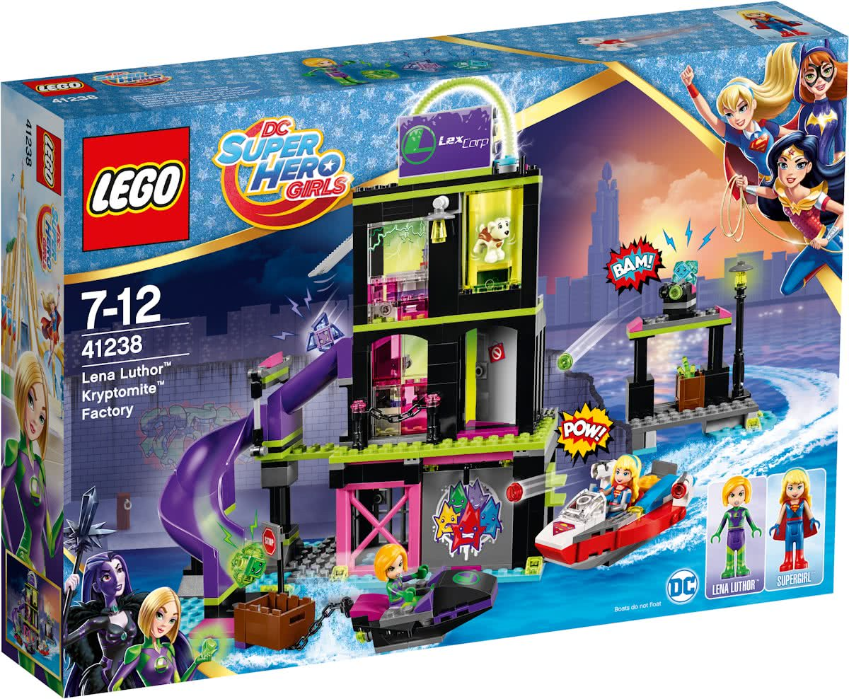 LEGO DC Super Hero Girls Lena Luthor Kryptomite-fabriek - 41238