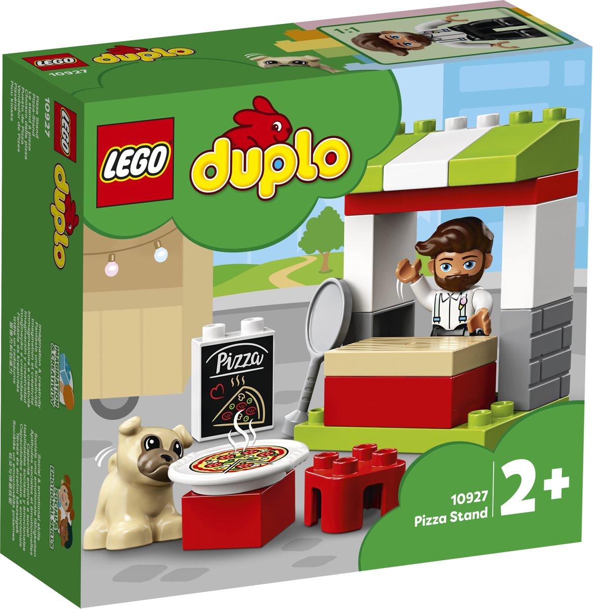 LEGO DUPLO Pizza-kraam - 10927