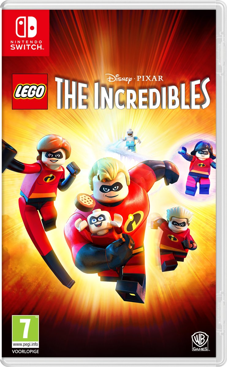 LEGO Disney Pixars: The Incredibles - Nintendo Switch