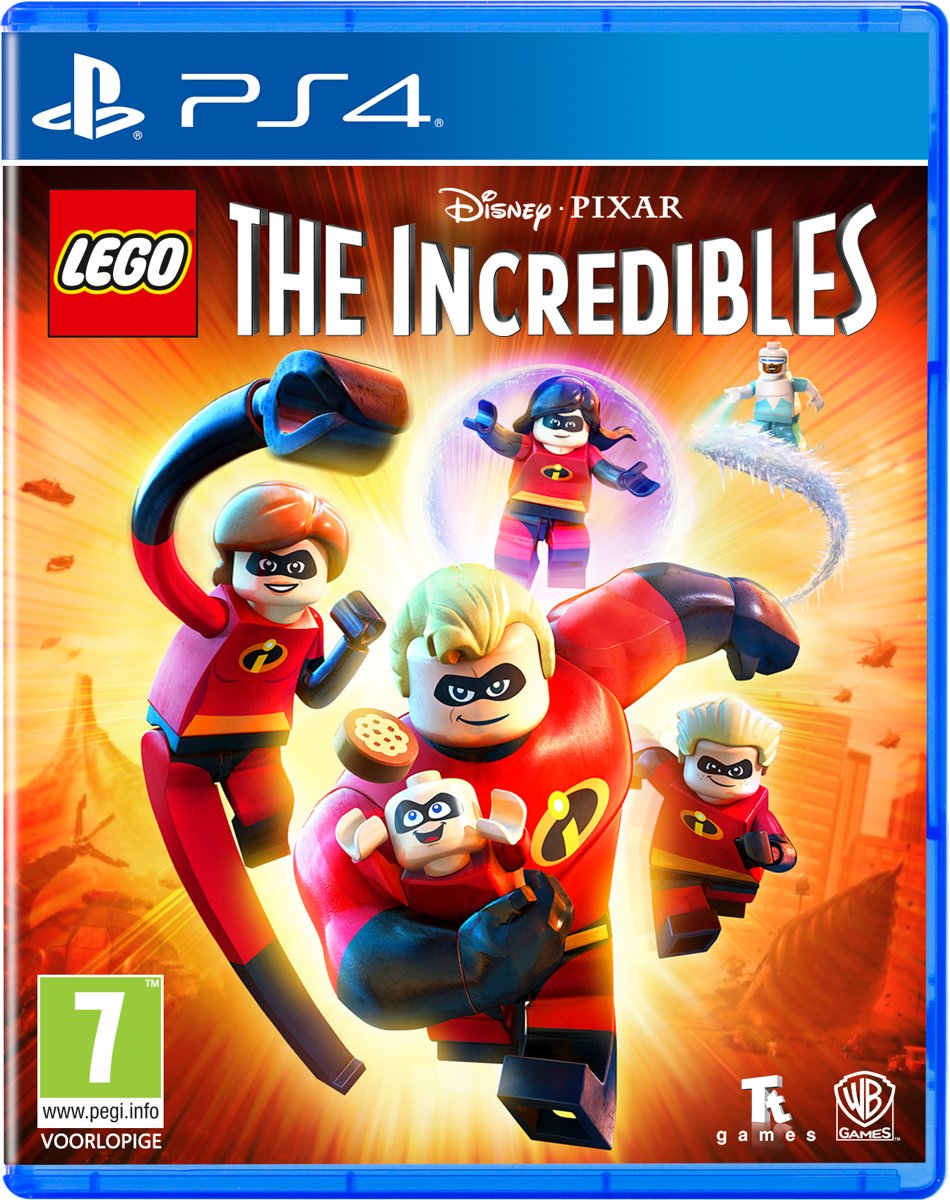 LEGO Disney Pixars: The Incredibles - Playstation 4