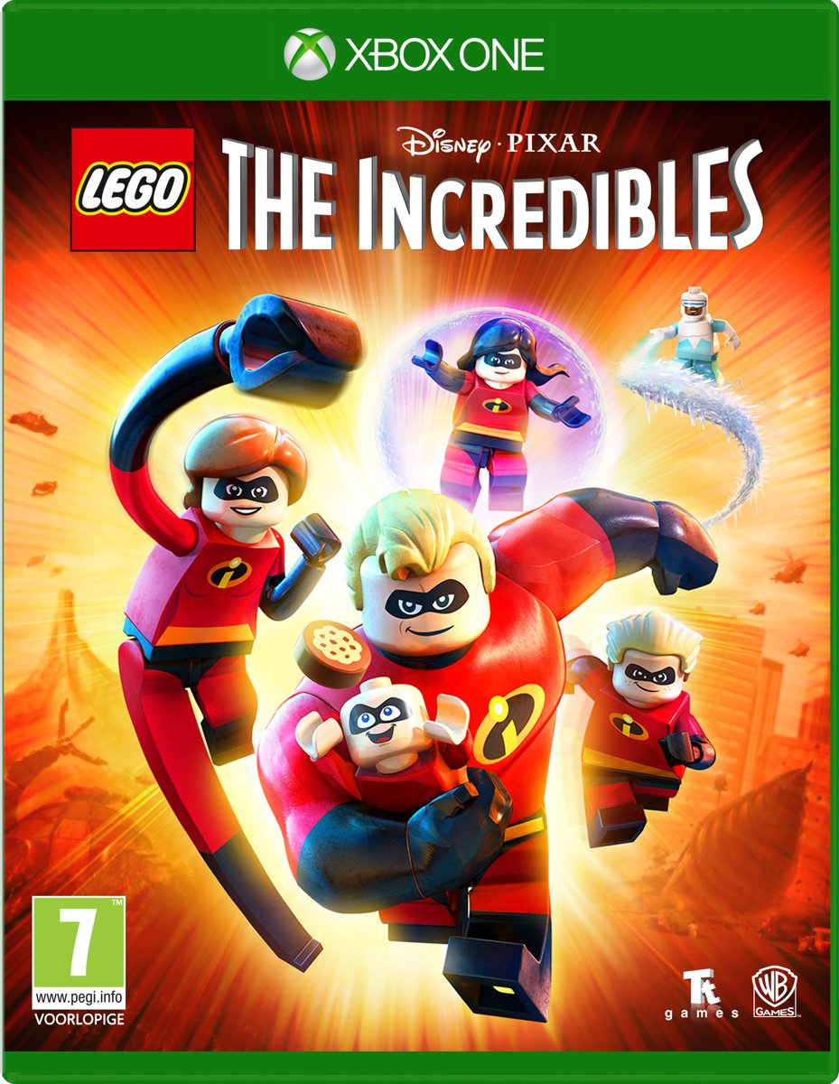 LEGO Disney Pixars: The Incredibles - Xbox One