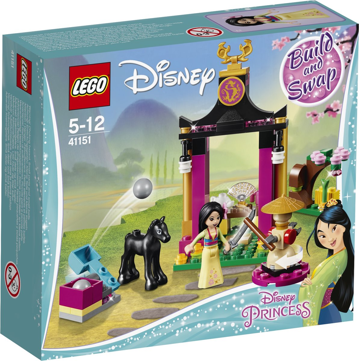 LEGO Disney Princess Mulans Trainingsdag - 41151