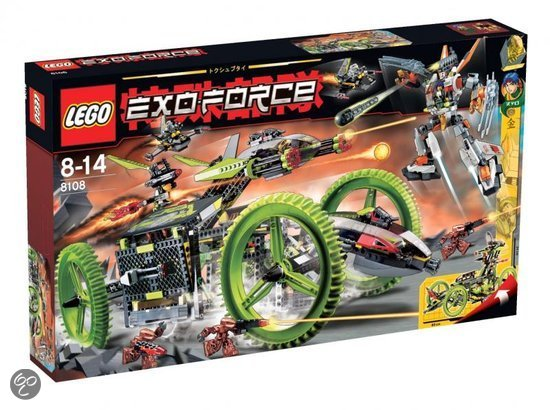 LEGO Exo-Force Mobile Devestator - 8108