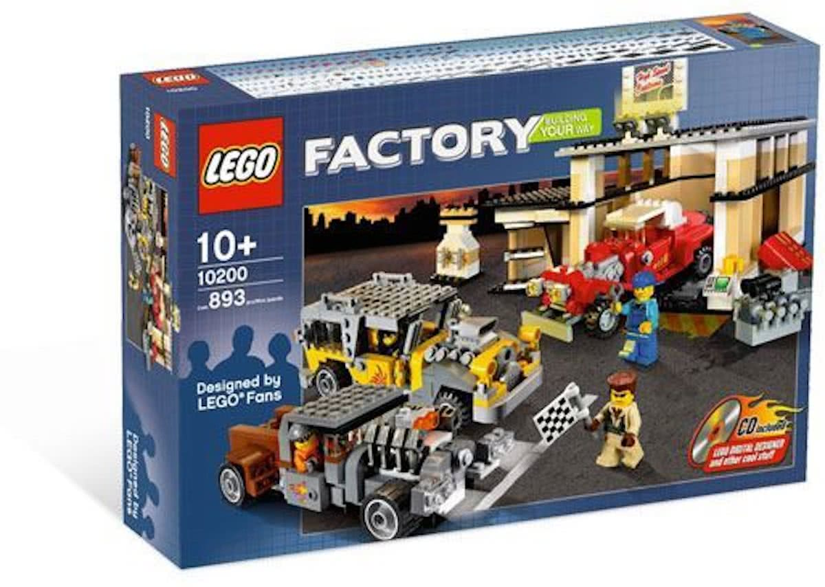 LEGO Factory Custom Car Garage - 10200