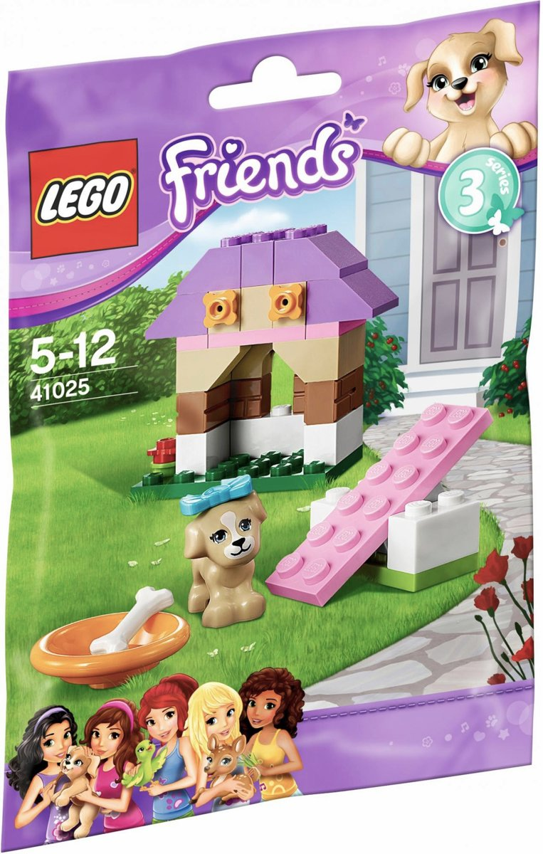 LEGO Friends 41025 Puppy Speelhuis (Polybag)
