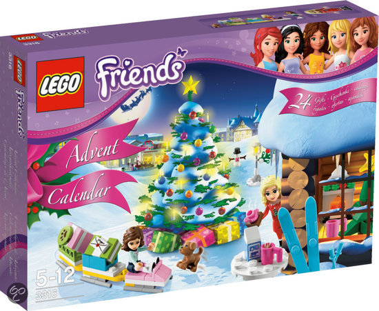 LEGO Friends Adventskalender - 3316