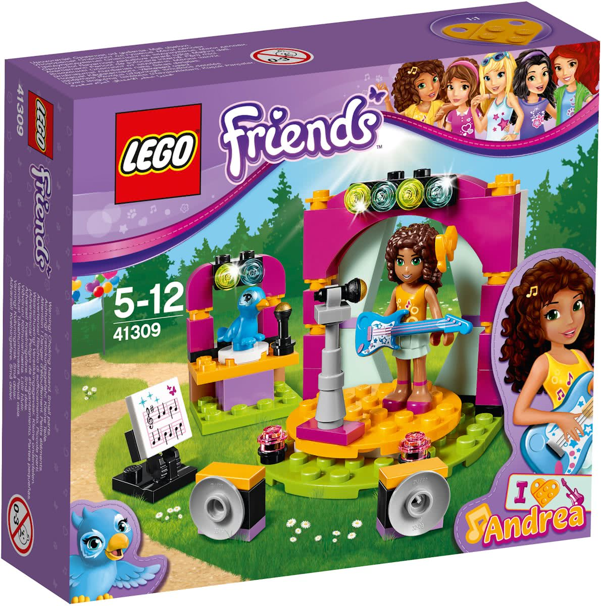 LEGO Friends Andreas Muzikale Duet - 41309