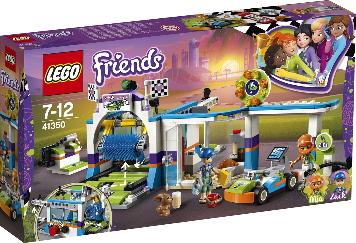 LEGO Friends Autowasstraat - 41350
