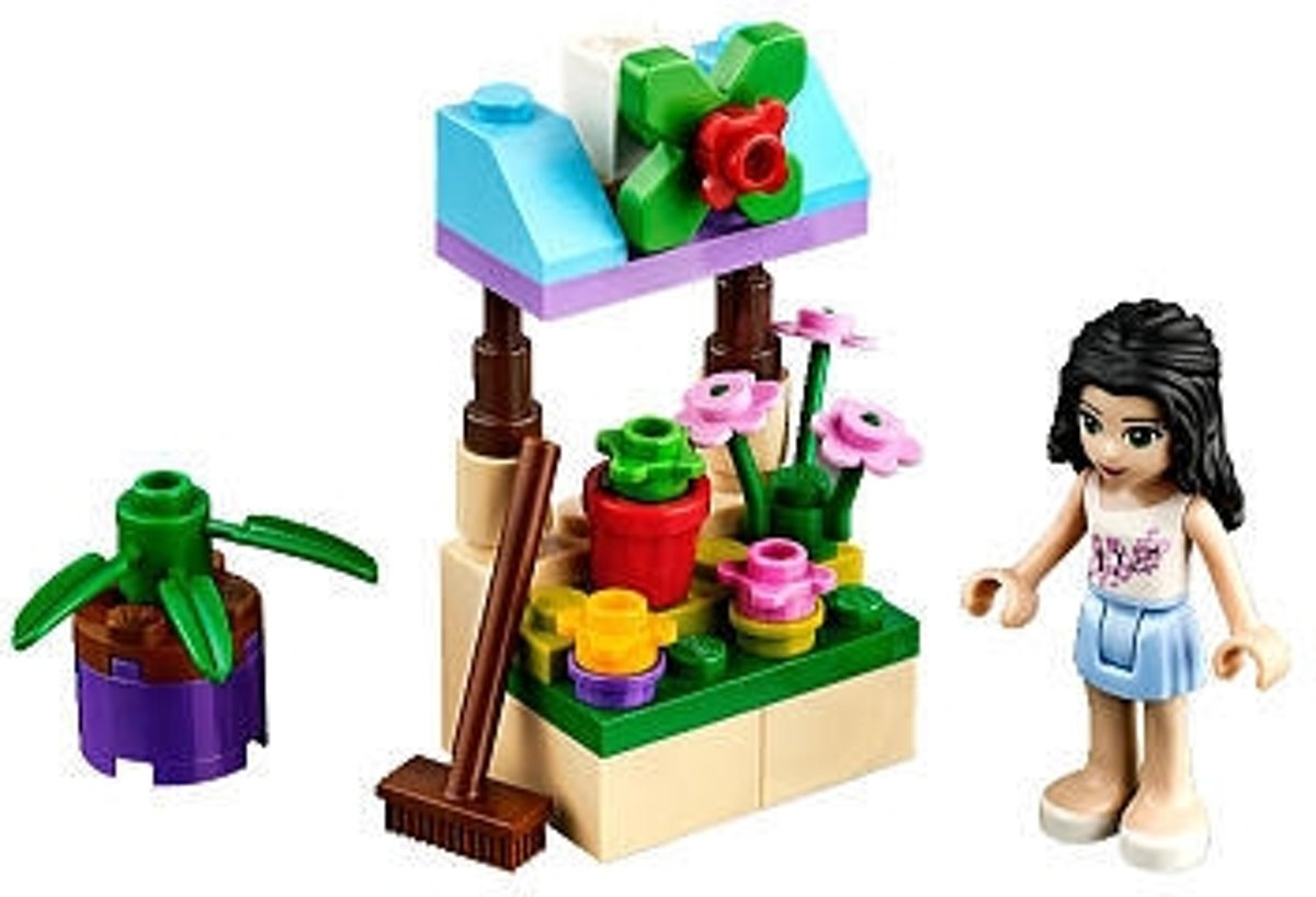 LEGO Friends Bloemenstand (Polybag) - 30112