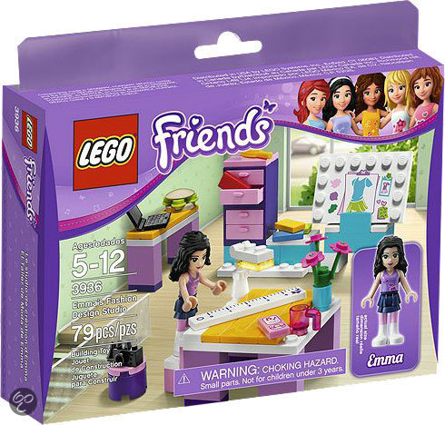 LEGO Friends Emmas Ontwerpstudio - 3936