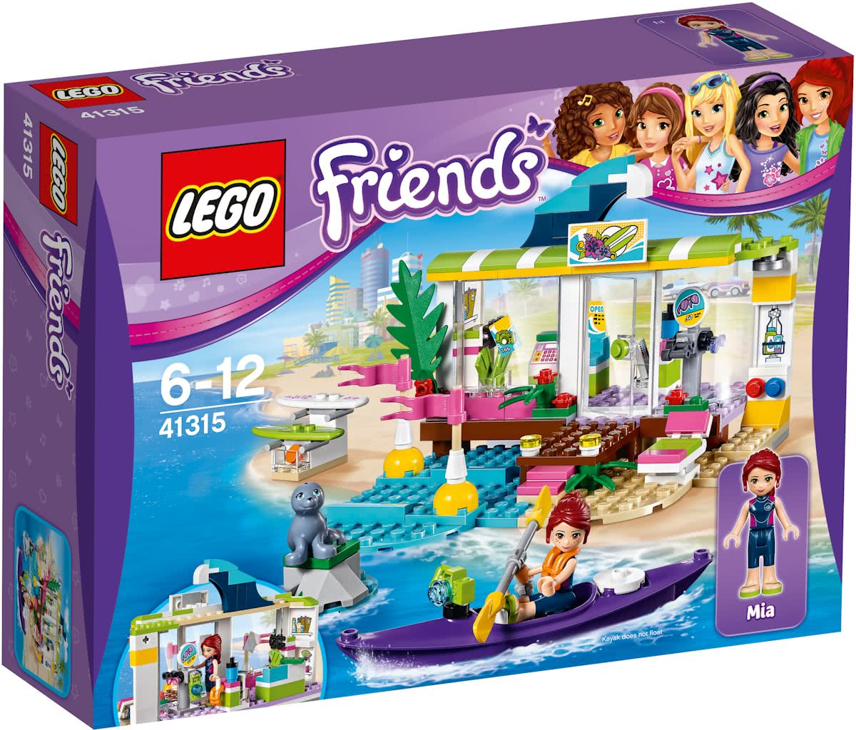 LEGO Friends Heartlake Surfshop - 41315