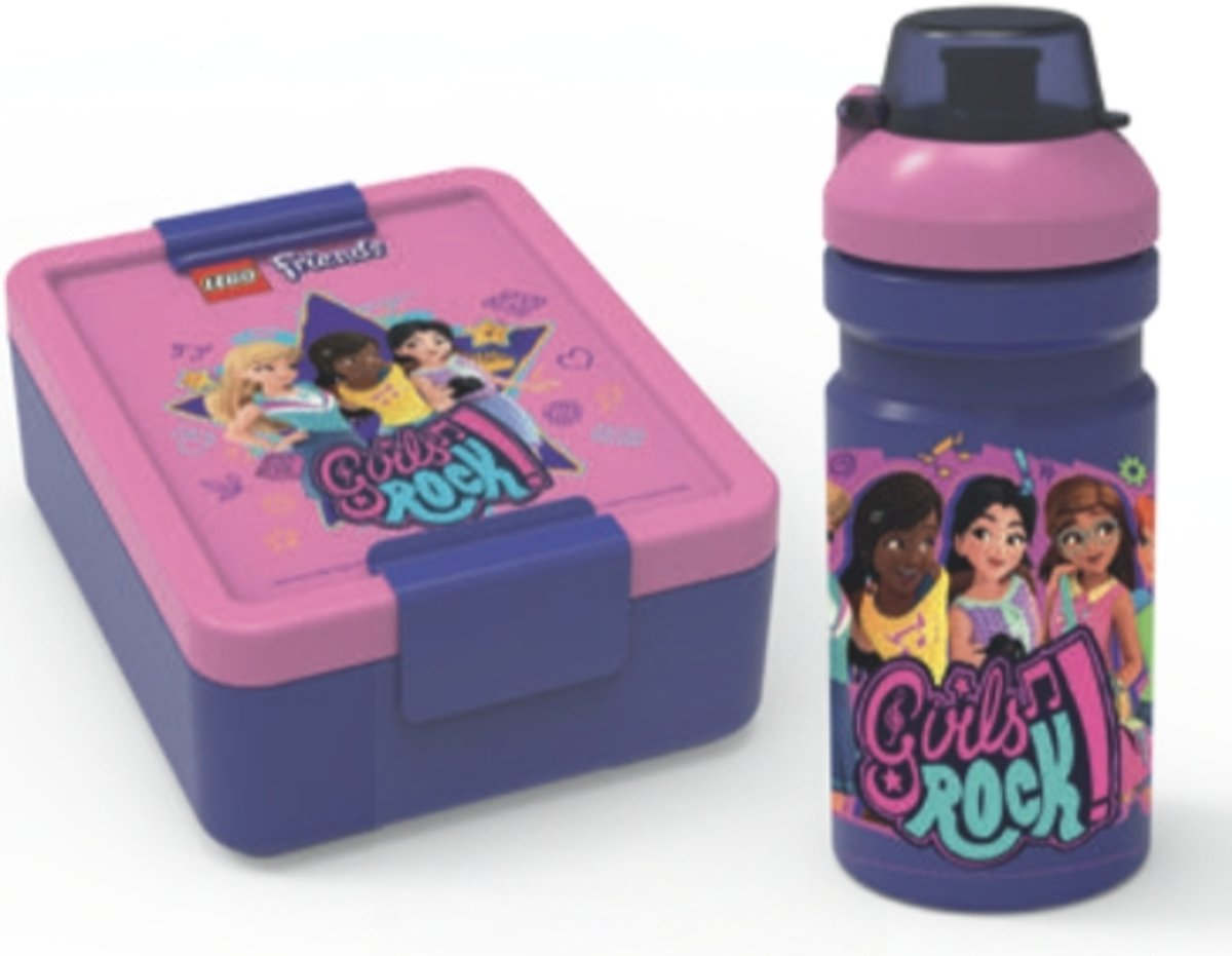 LEGO Friends Lunchset - Paars