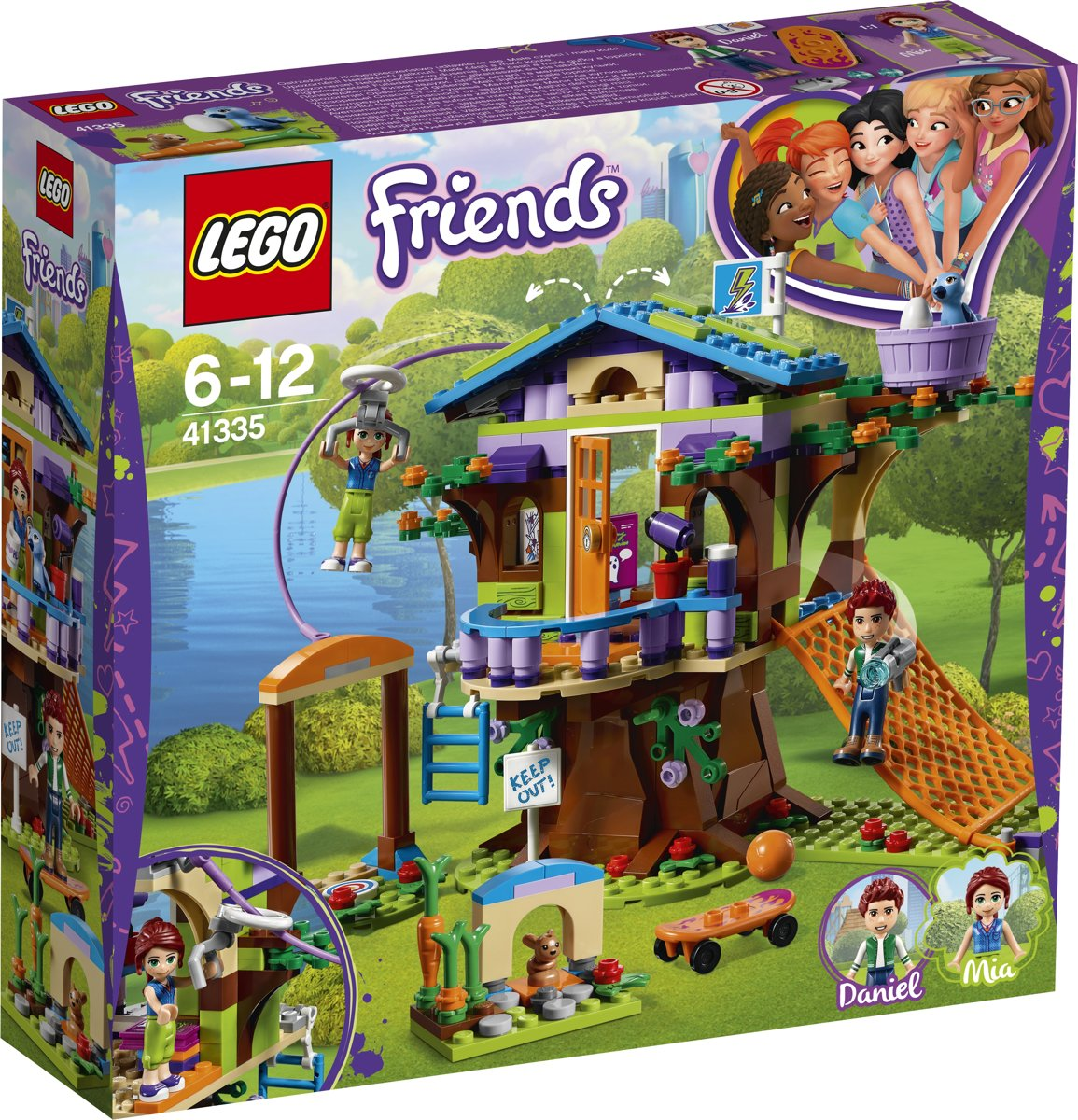 LEGO Friends Mias Boomhut - 41335