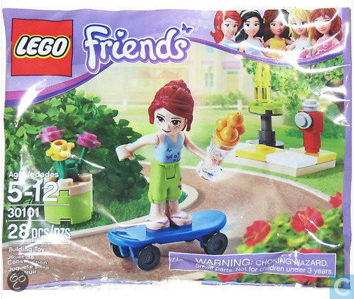 LEGO Friends Mias Skateboard - 30101
