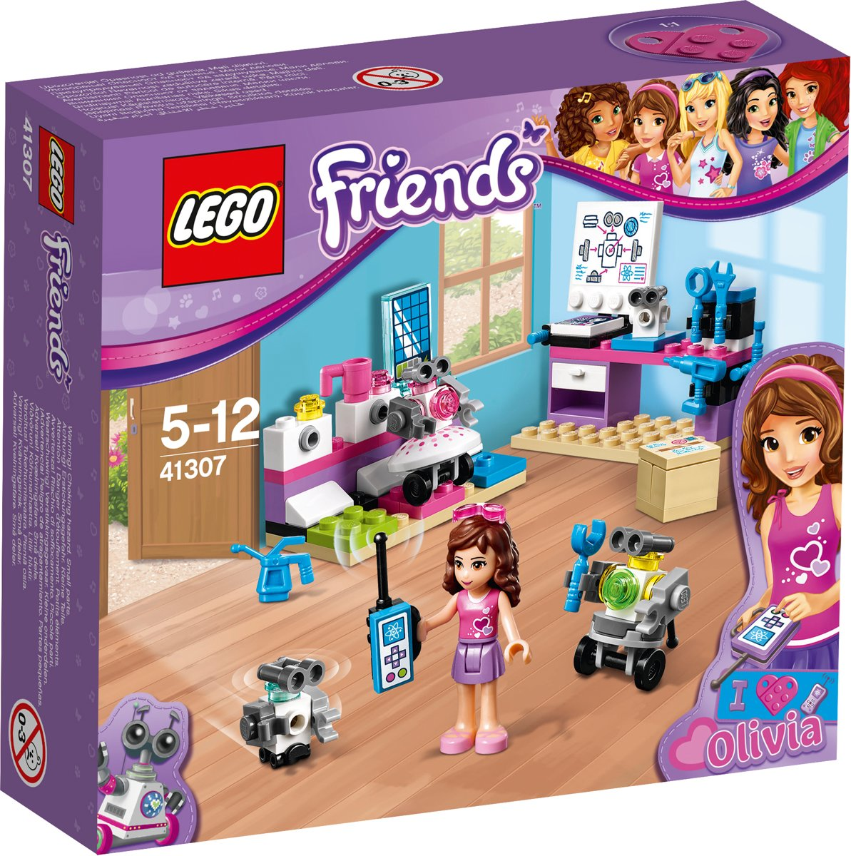 LEGO Friends Olivias Laboratorium - 41307