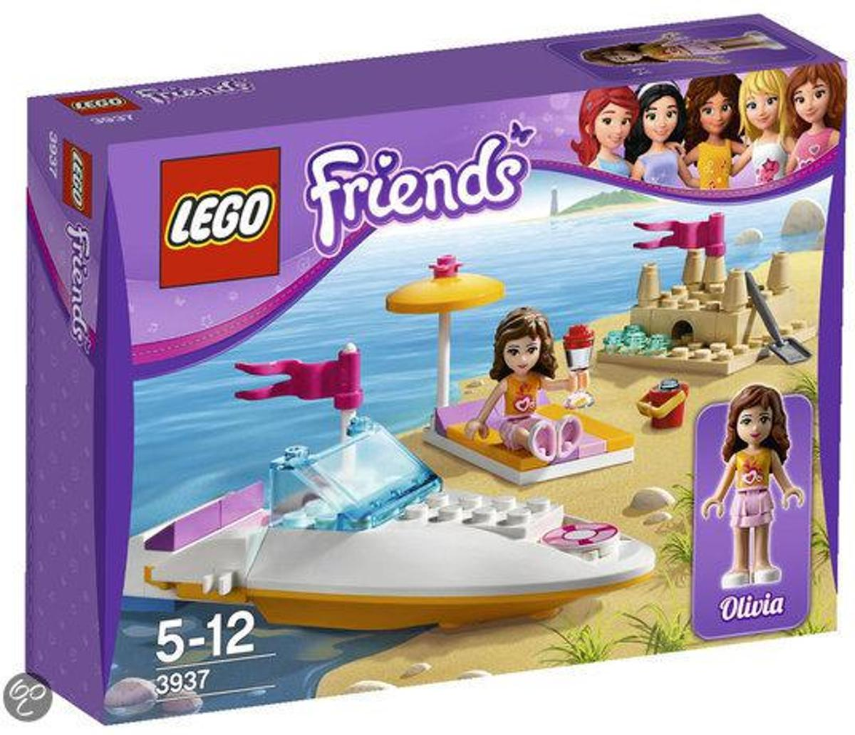 LEGO Friends Olivias Speedboot - 3937