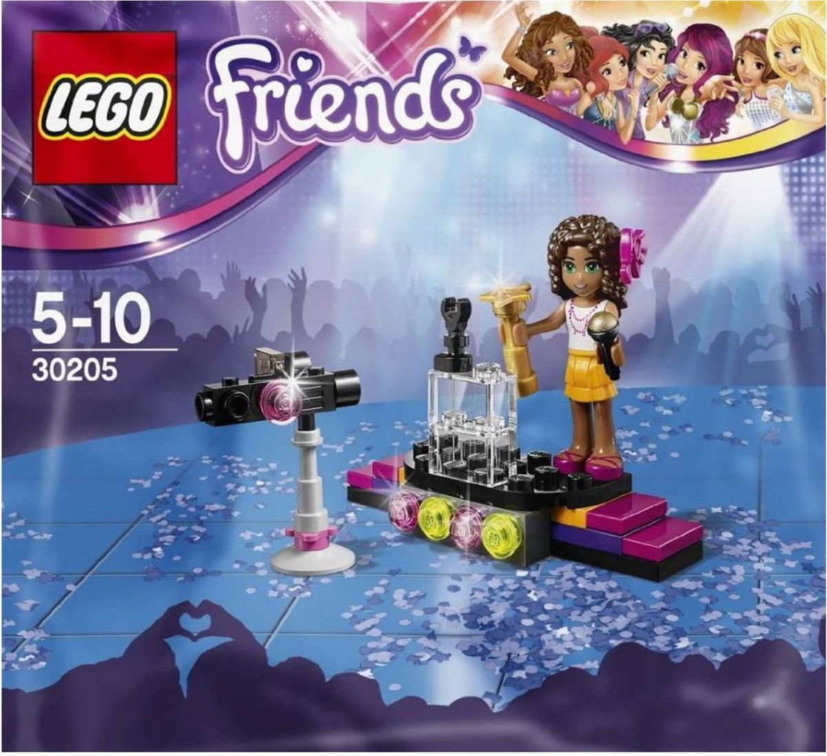 LEGO Friends Popster Rode Loper - 30205