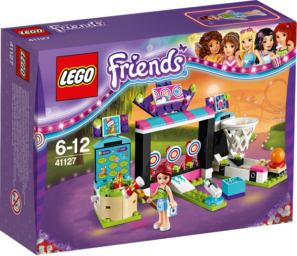 LEGO Friends Pretpark Spelletjeshal - 41127
