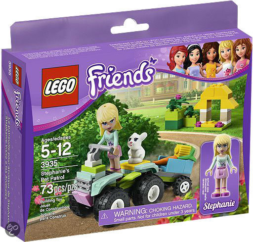 LEGO Friends Stephanie's Huisdiertransport - 3935