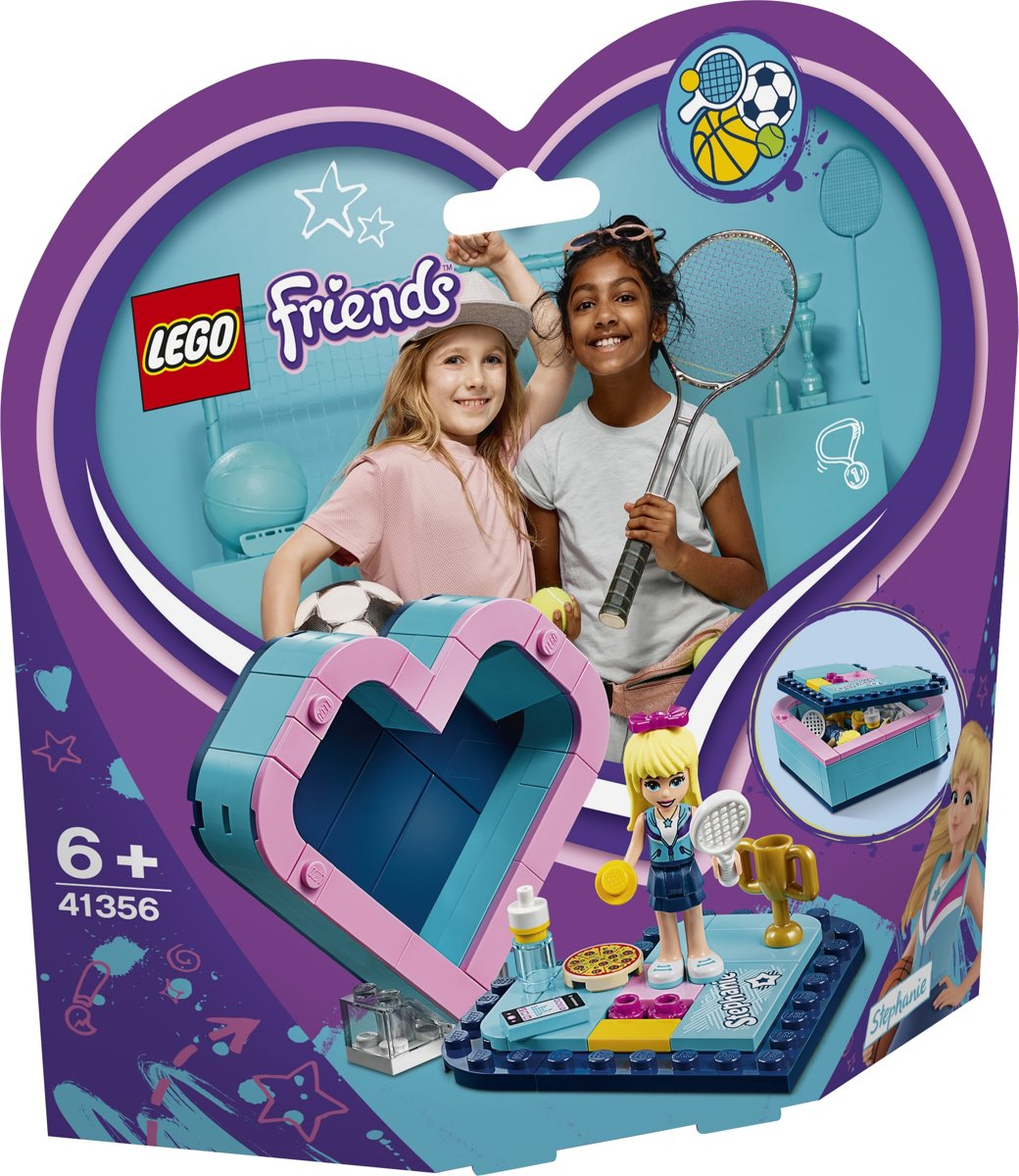 LEGO Friends Stephanies Hartvormige Doos - 41356