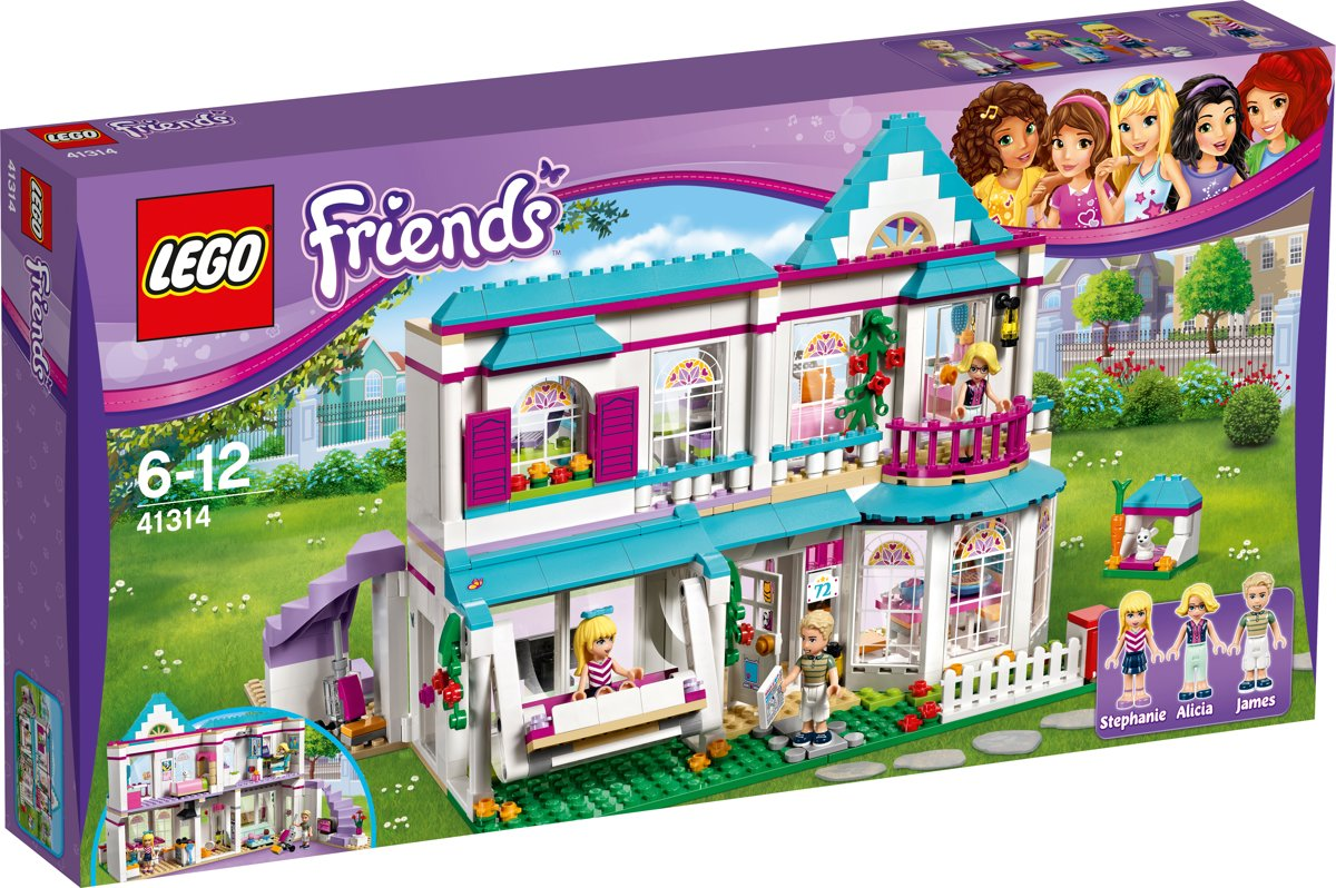 LEGO Friends Stephanies Huis - 41314