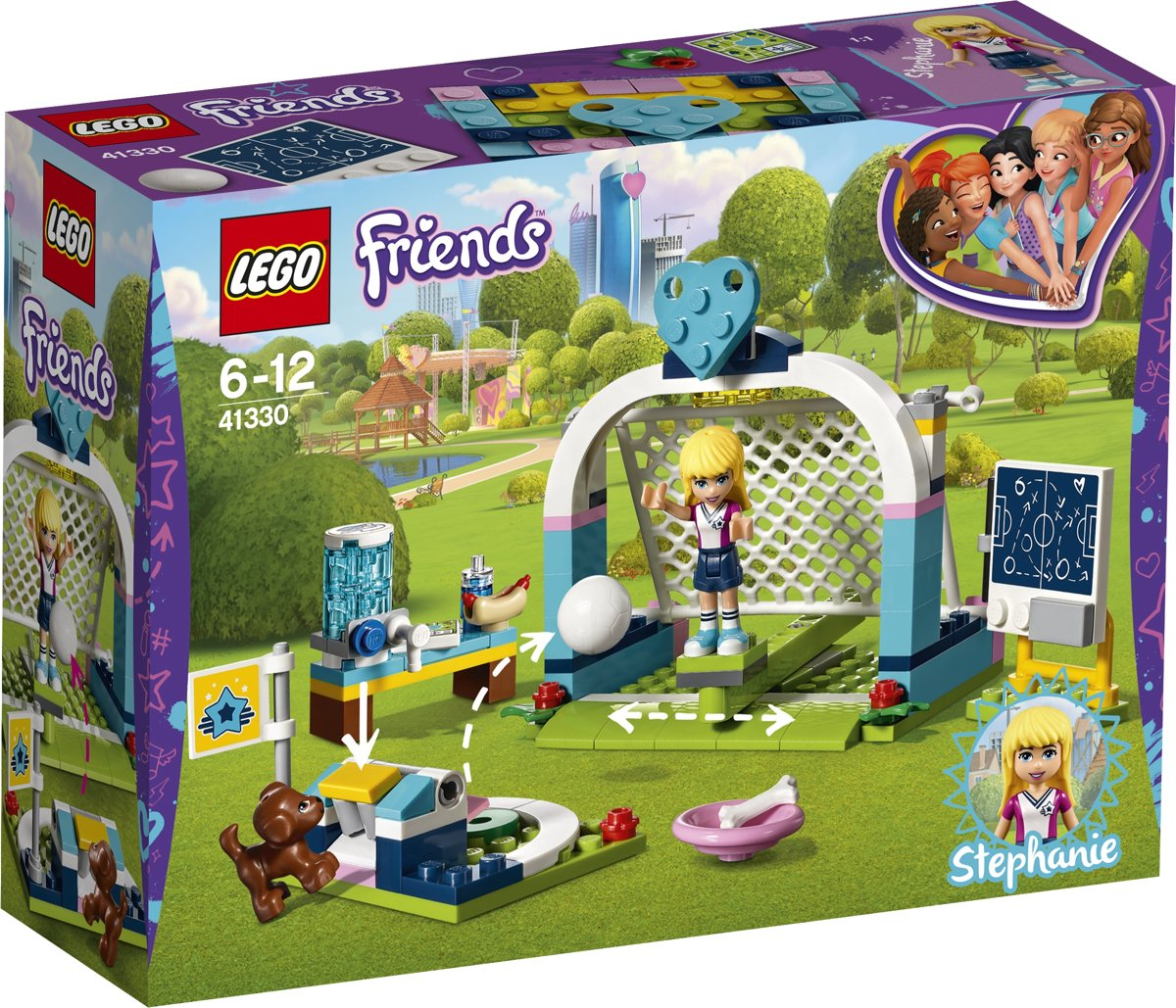 LEGO Friends Stephanies Voetbaltraining - 41330