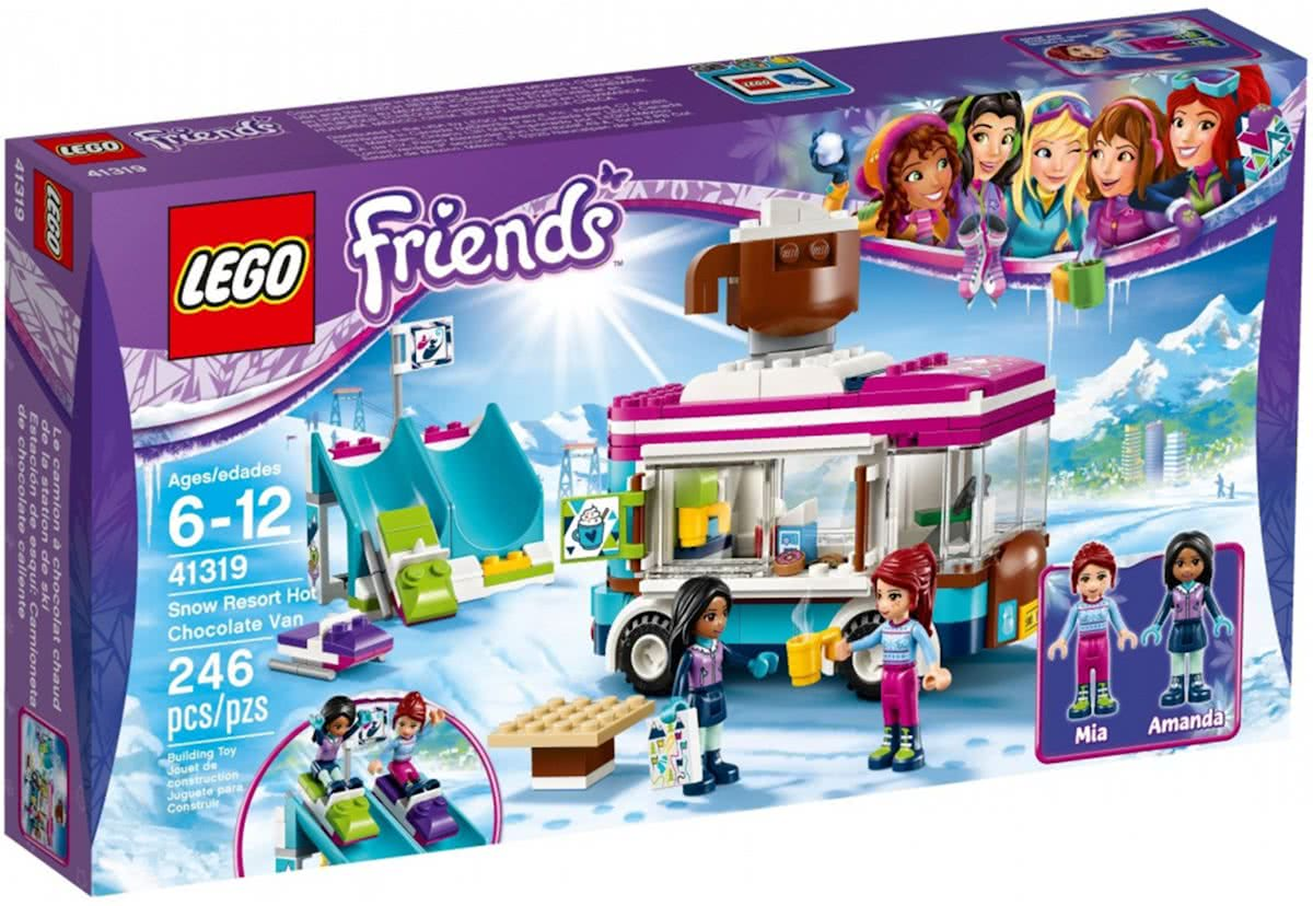 LEGO Friends Wintersport Koek-en-zopiewagen - 41319