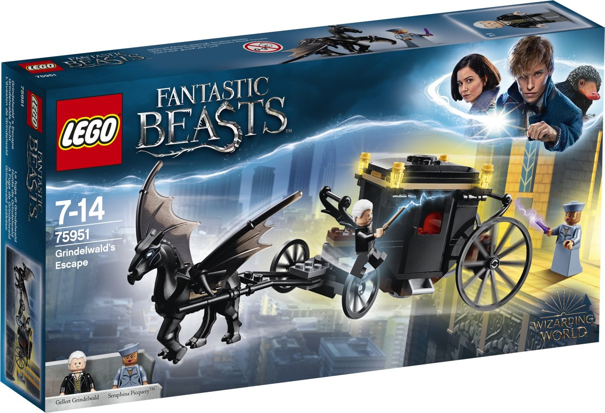 LEGO Harry Potter Fantastic Beasts Grindelwalds Ontsnapping - 75951