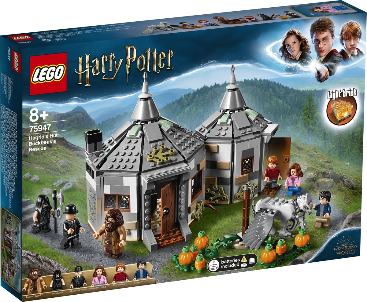 LEGO Harry Potter Hagrids Huisje: Scheurbeks Ontsnapping - 75947