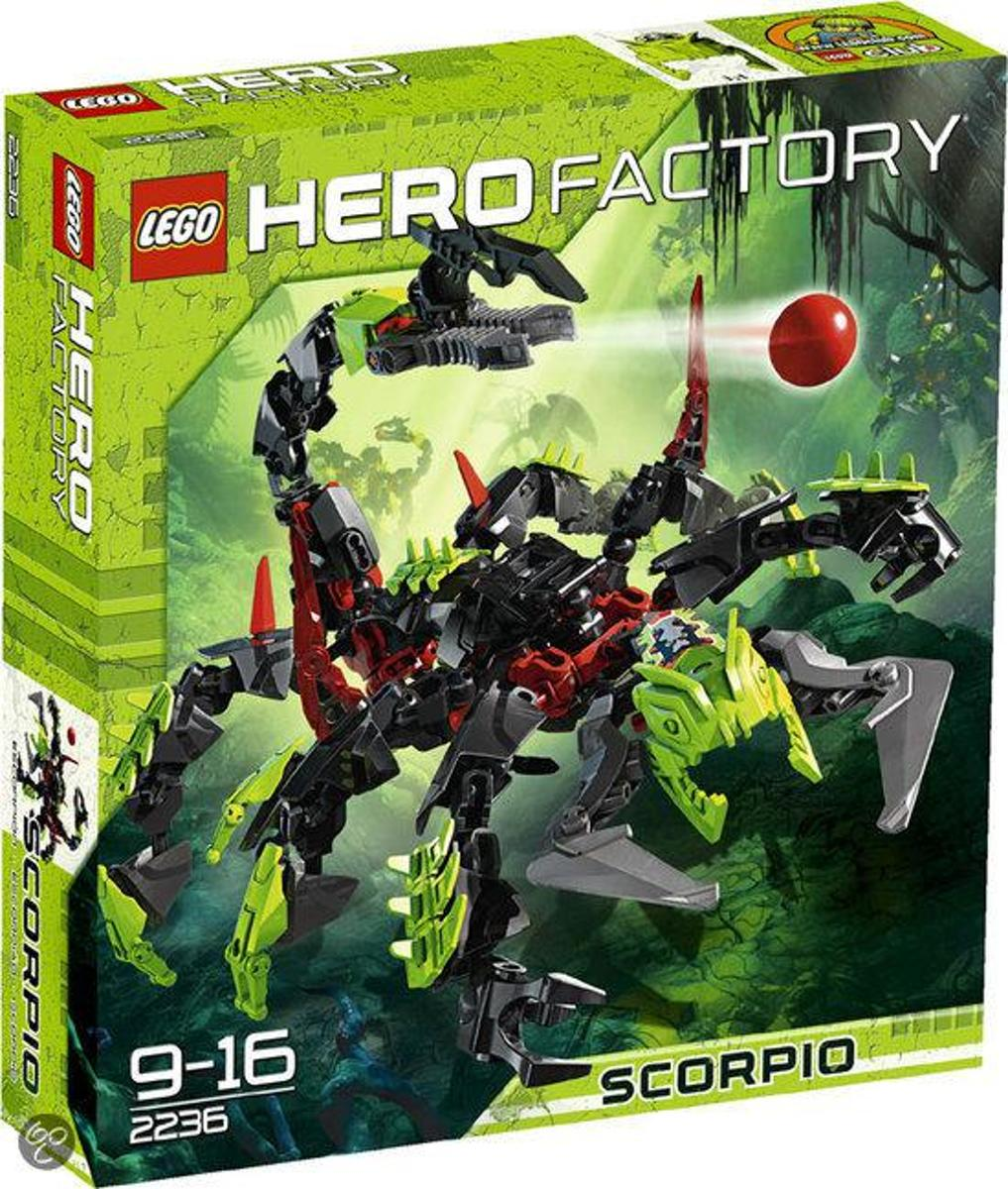 LEGO Hero Factory Scorpio - 2236