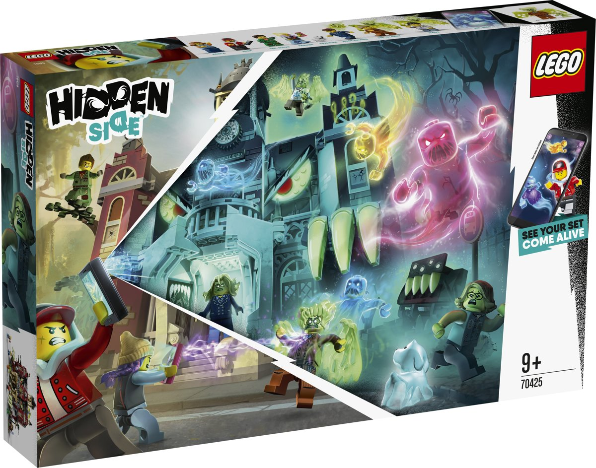 LEGO Hidden Side De Newbury Spookschool - 70425