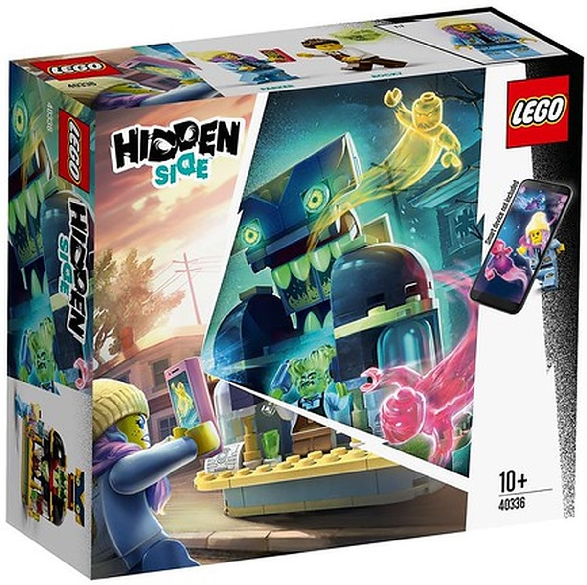 LEGO Hidden Side Newbury Juice Bar - 40336