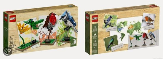 LEGO Ideas Vogels - 21301