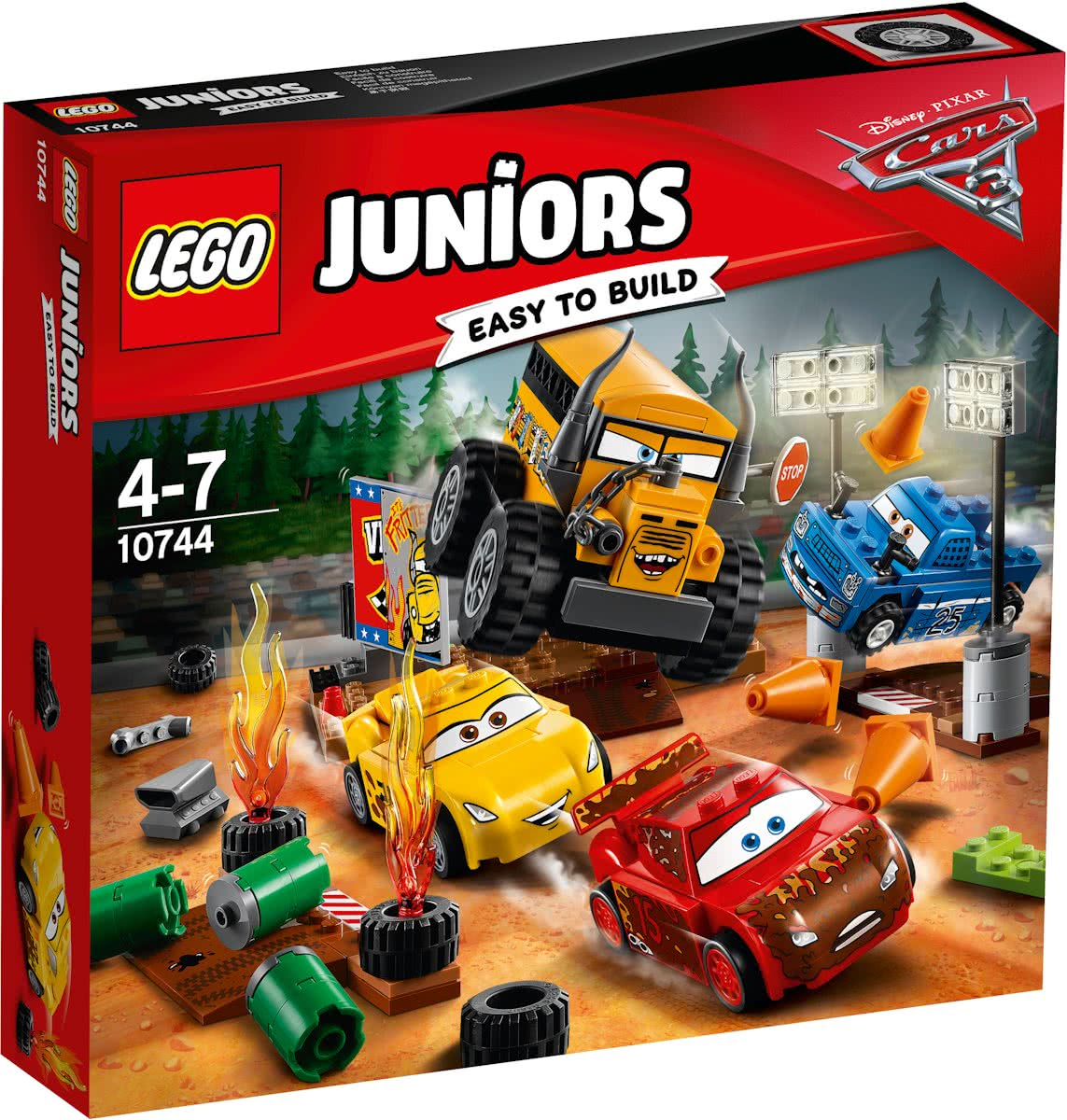 LEGO Juniors Cars 3 Thunder Hollow Crazy 8 Race - 10744