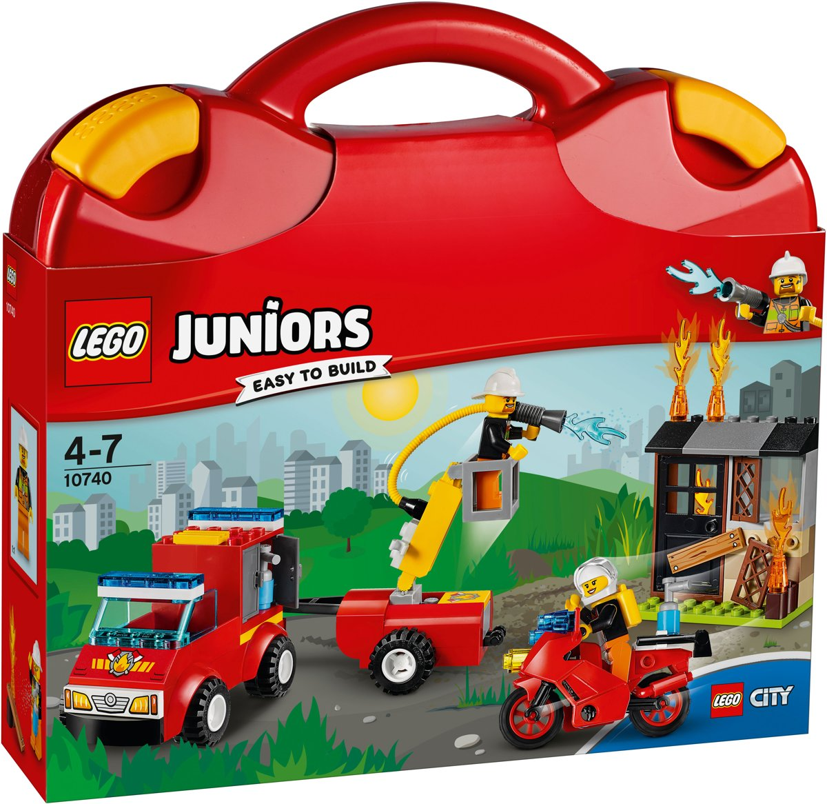 LEGO Juniors City Brandweerkoffer - 10740