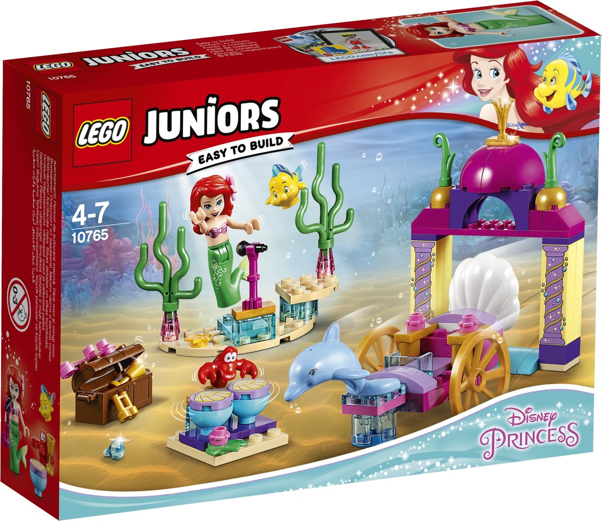LEGO Juniors Disney Princess Ariëls Onderwaterconcert - 10765