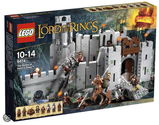 LEGO Lord of the Rings De Slag om de Helmsdiepte - 9474
