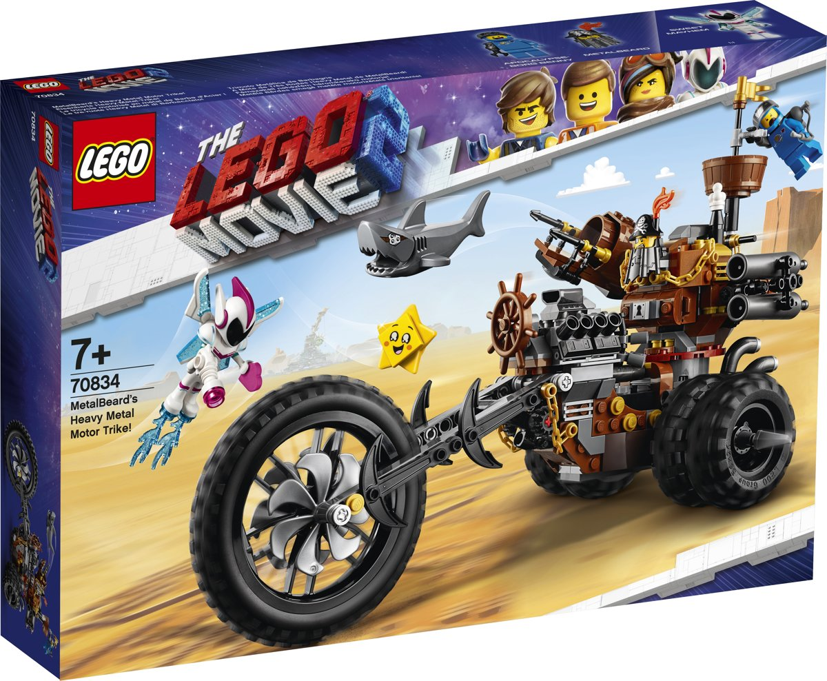 LEGO MOVIE 2 Metaalbaards heavy metal trike - 70834