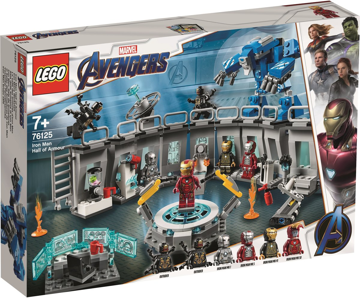 LEGO Marvel Avengers Iron Man Labervaring - 76125