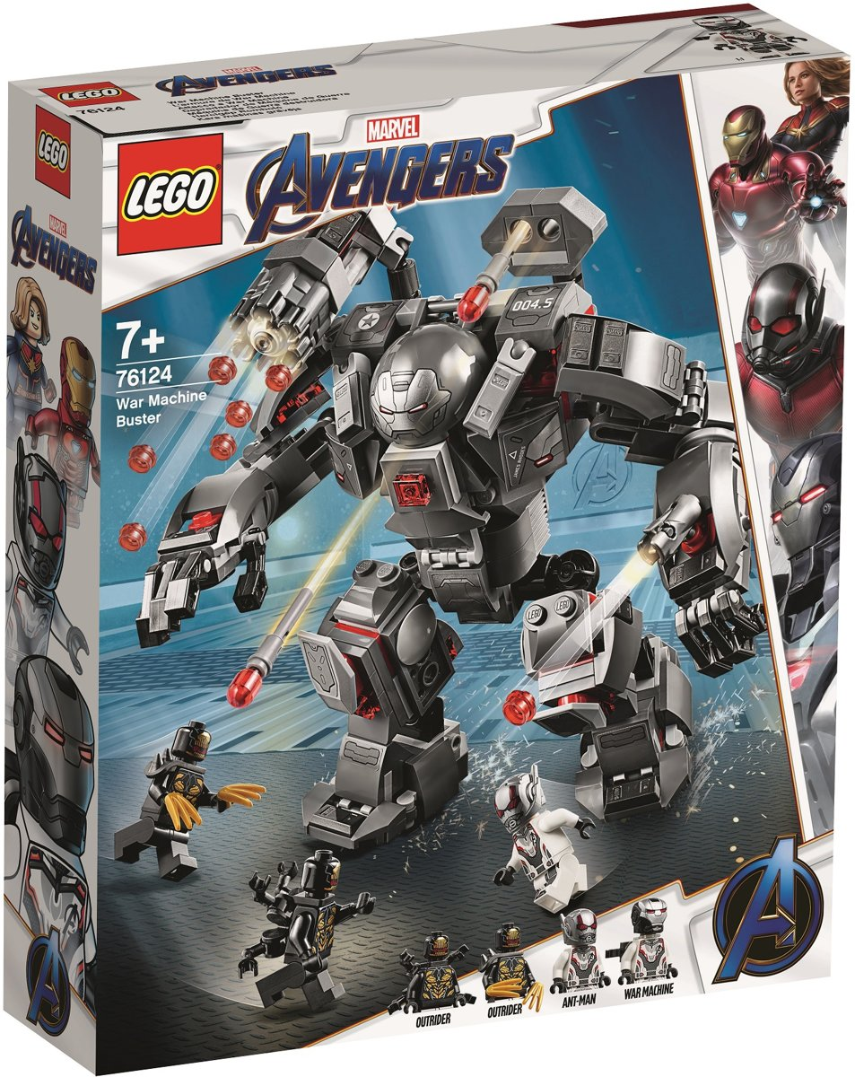 LEGO Marvel Avengers War Machine Buster - 76124