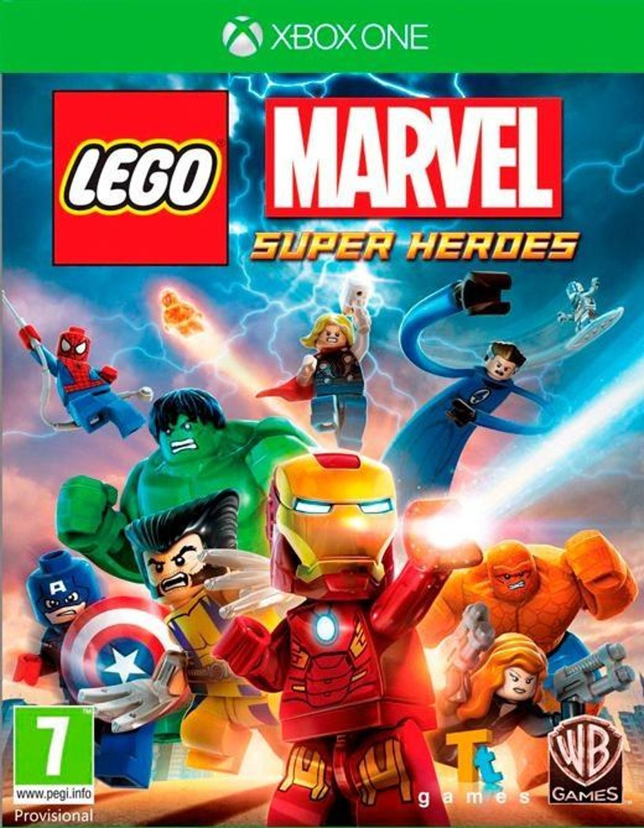 LEGO: Marvel Super Heroes Xbox One