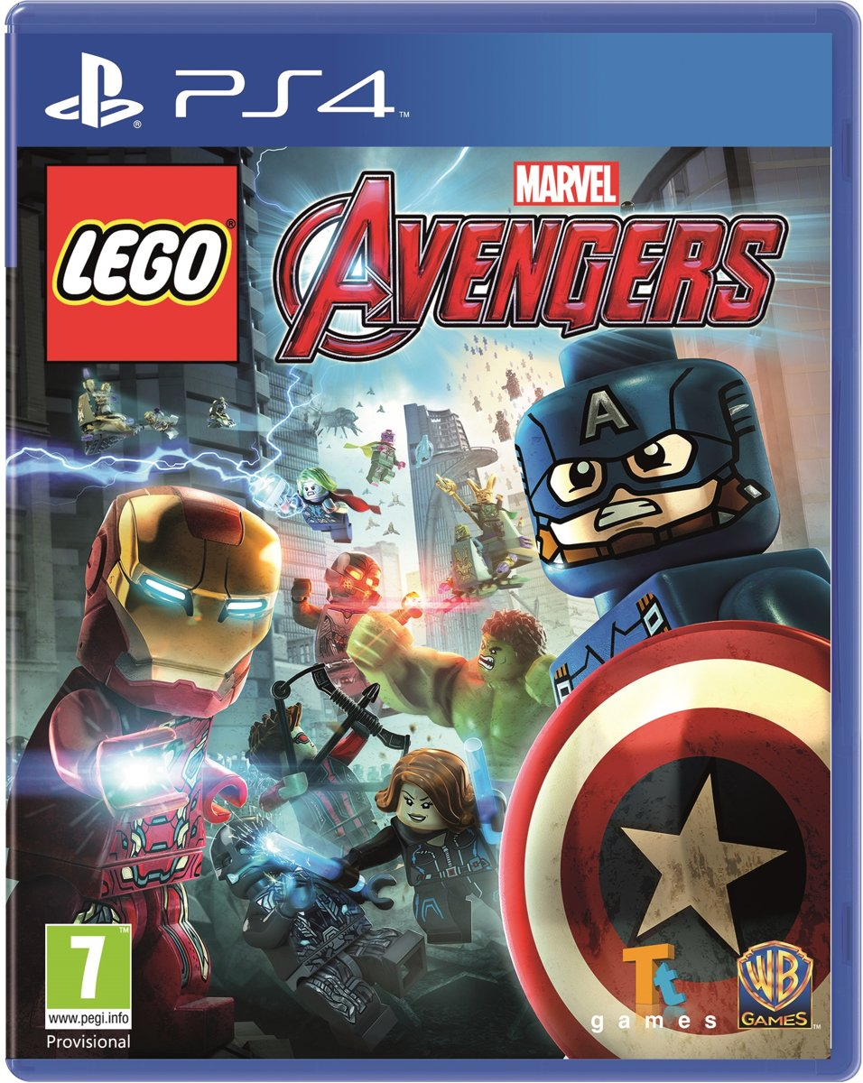 LEGO: Marvels Avengers PS4