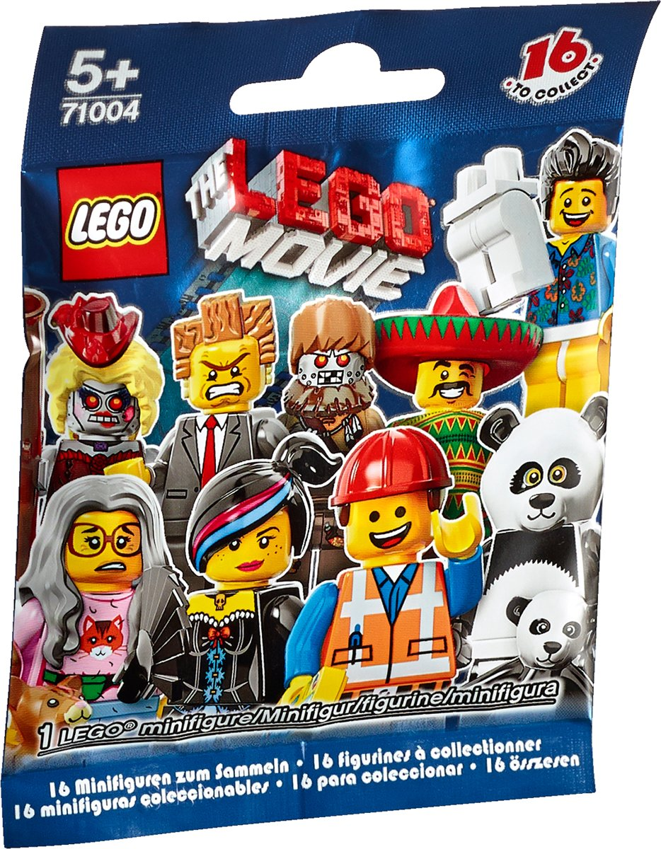 LEGO Minifiguren The Movie Series - 71004 - 1 stuks