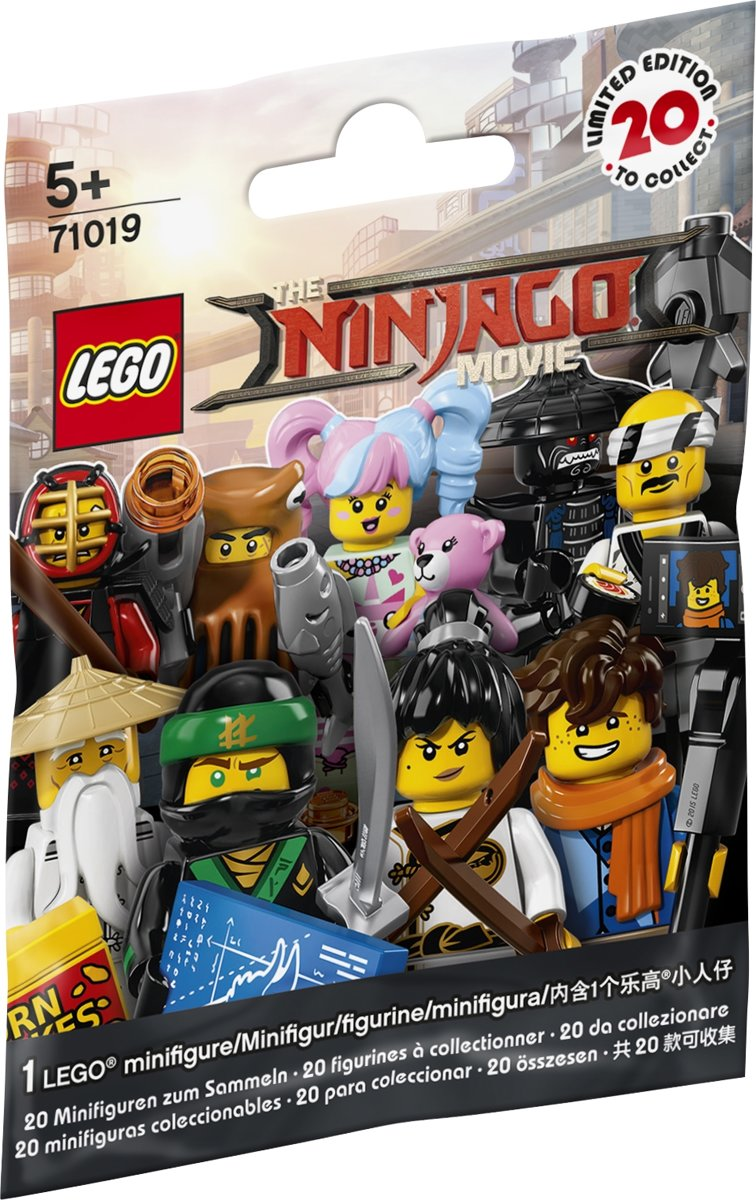 LEGO Minifigures NINJAGO Movie - 71019