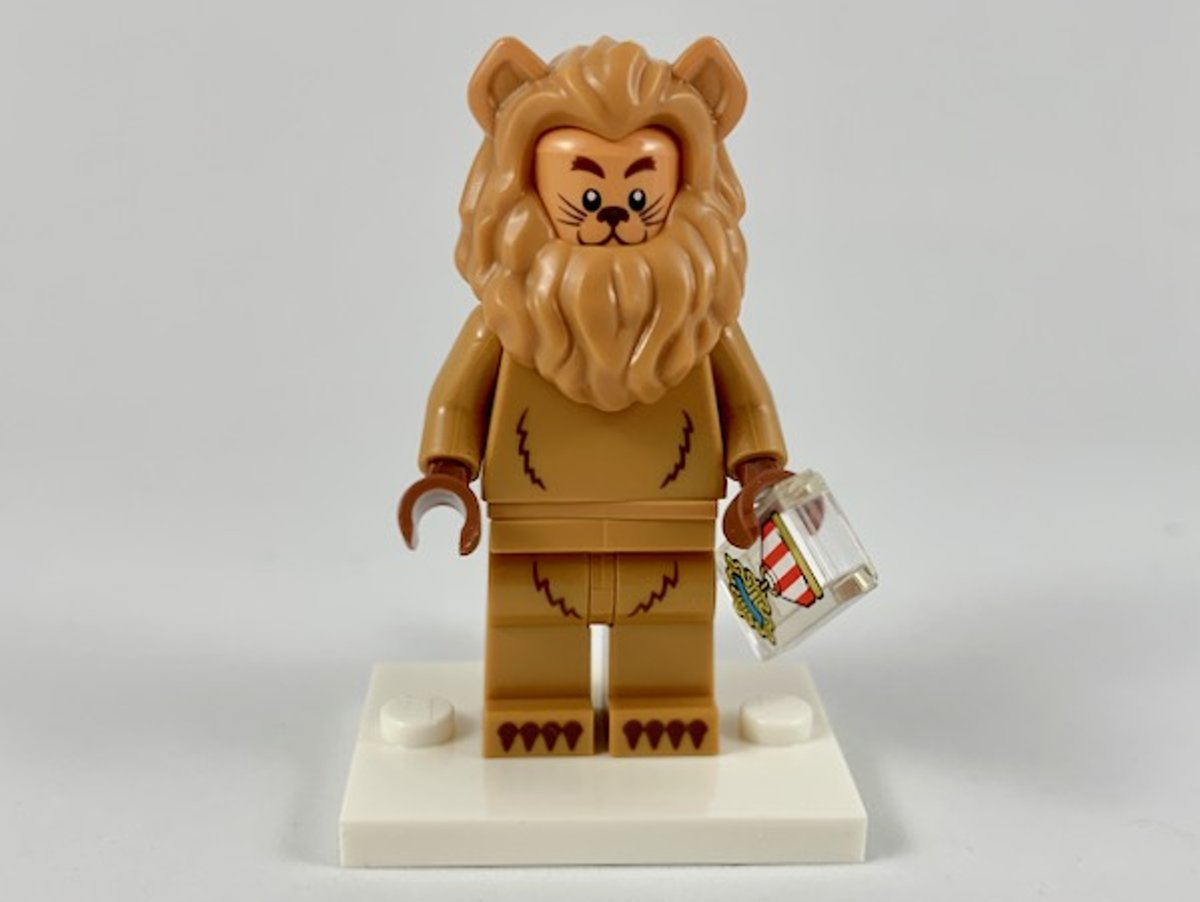 LEGO Minifiguur The LEGO Movie 2 Cowardly Lion coltlm2-17