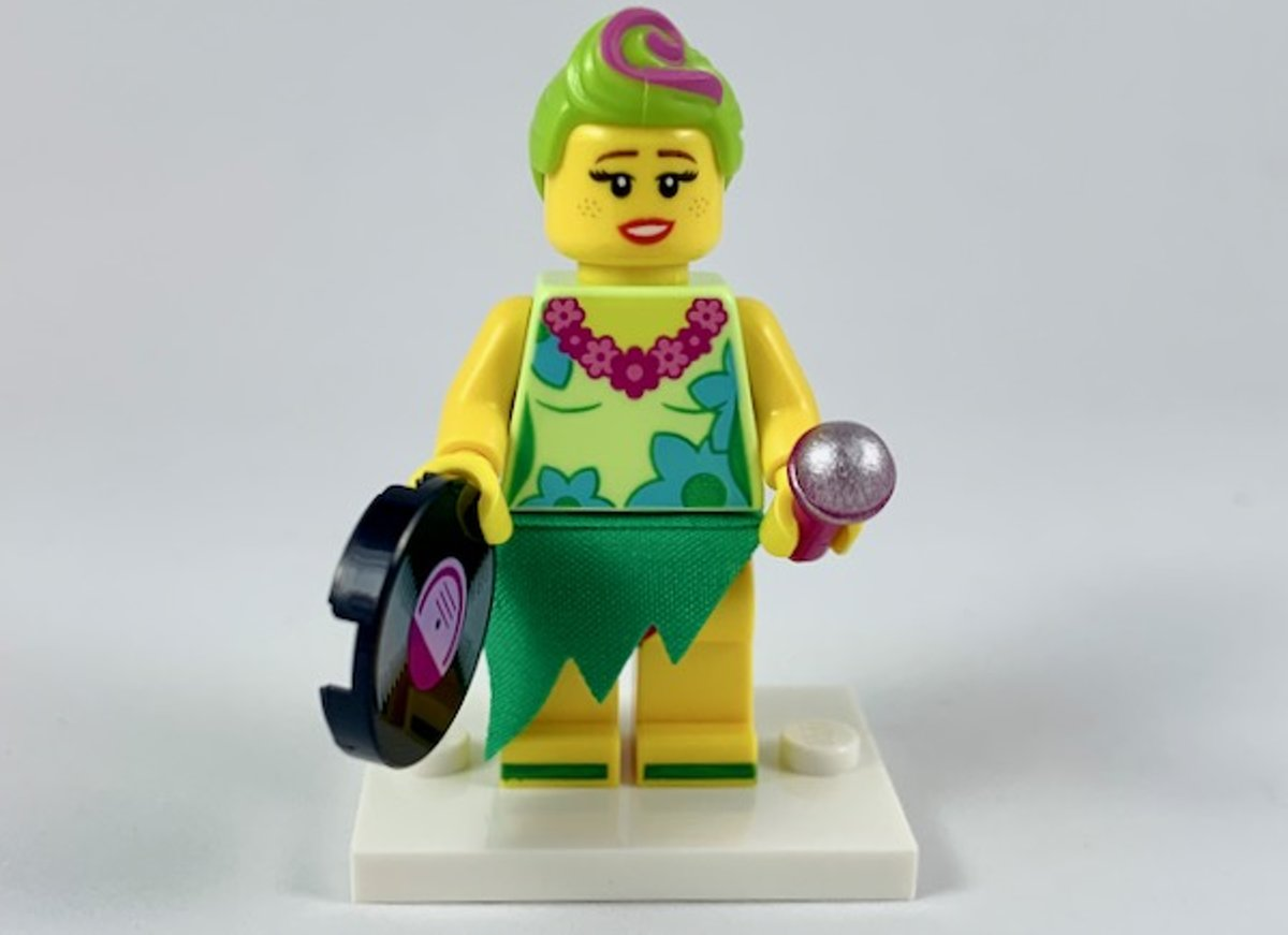 LEGO Minifiguur The LEGO Movie 2 Hula Lula coltlm2-7