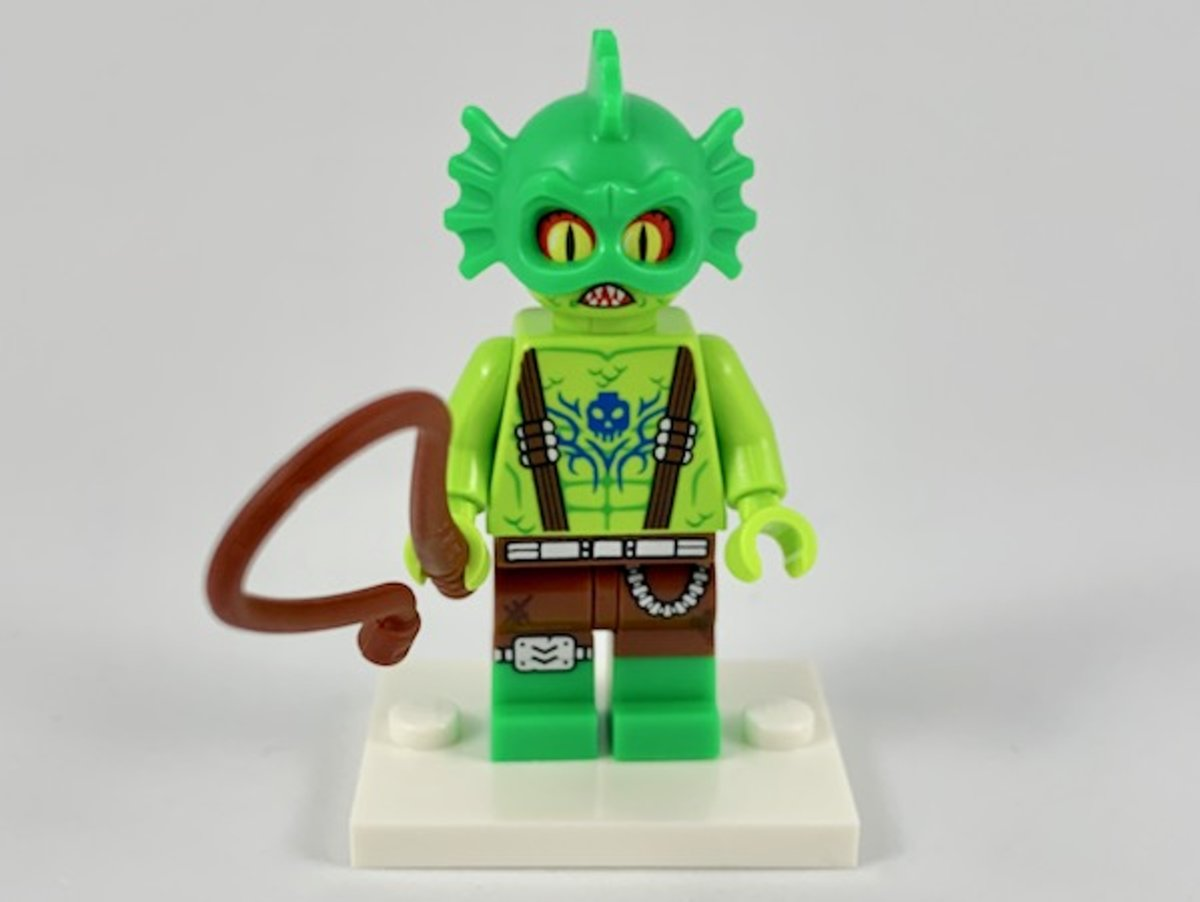 LEGO Minifiguur The LEGO Movie 2 Swamp Creature coltlm2-10