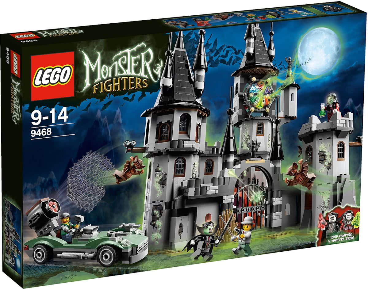 LEGO Monster Fighters Vampierkasteel - 9468